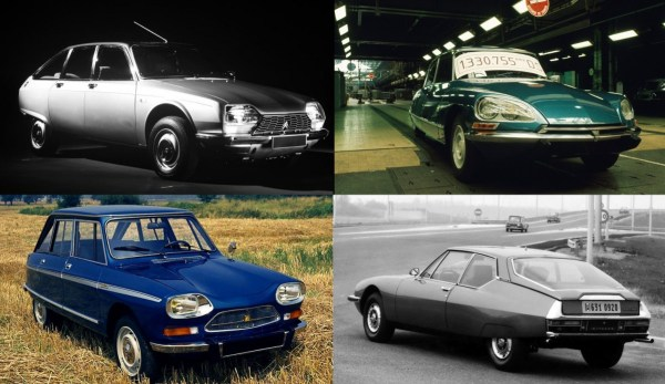 Citroën's mass extinction event of 1975-76. Only the DS got a farewell party.