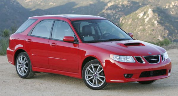 The 9-2x Aero - Mine was the same colour, minus the hood scoop and different rims