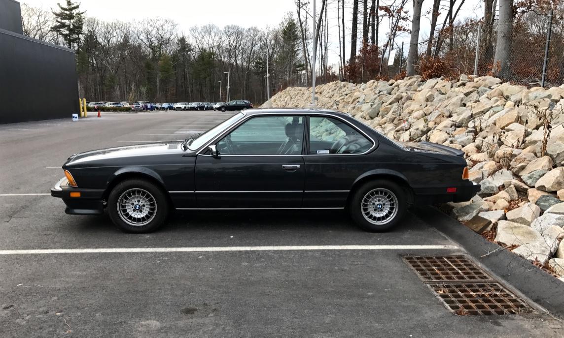 Curbside Classic: 1986 BMW 635 CSi (E24) – She\'s A Little Bit ...