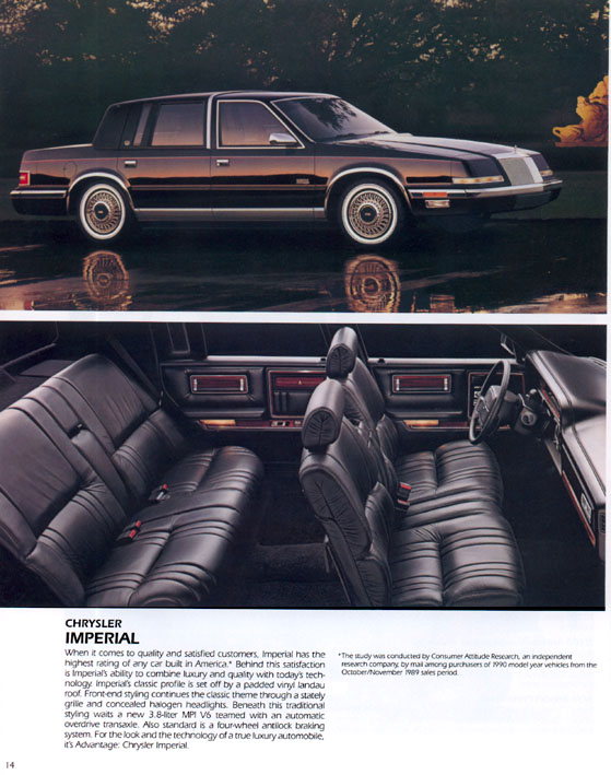 Curbside classic 1990 93 chrysler imperial tarnished crown for 93 chrysler new yorker salon