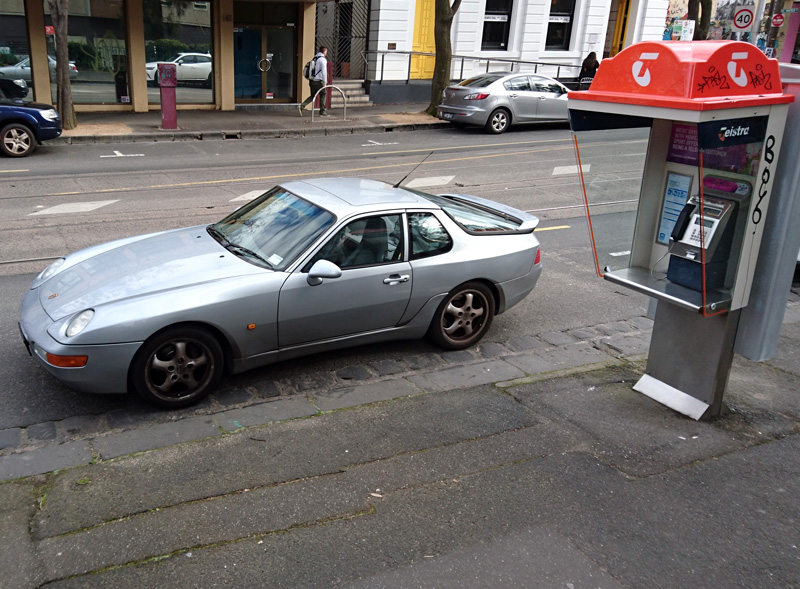 Curbside Clic: 1992-1995 Porsche 968. Phoning It In. on