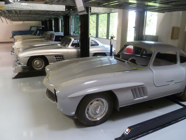 Mercedes-Benz Classic Center 300SL Gullwing