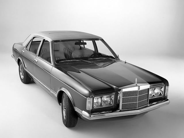 concept classic 1973 lincoln mark i what could have been. Black Bedroom Furniture Sets. Home Design Ideas