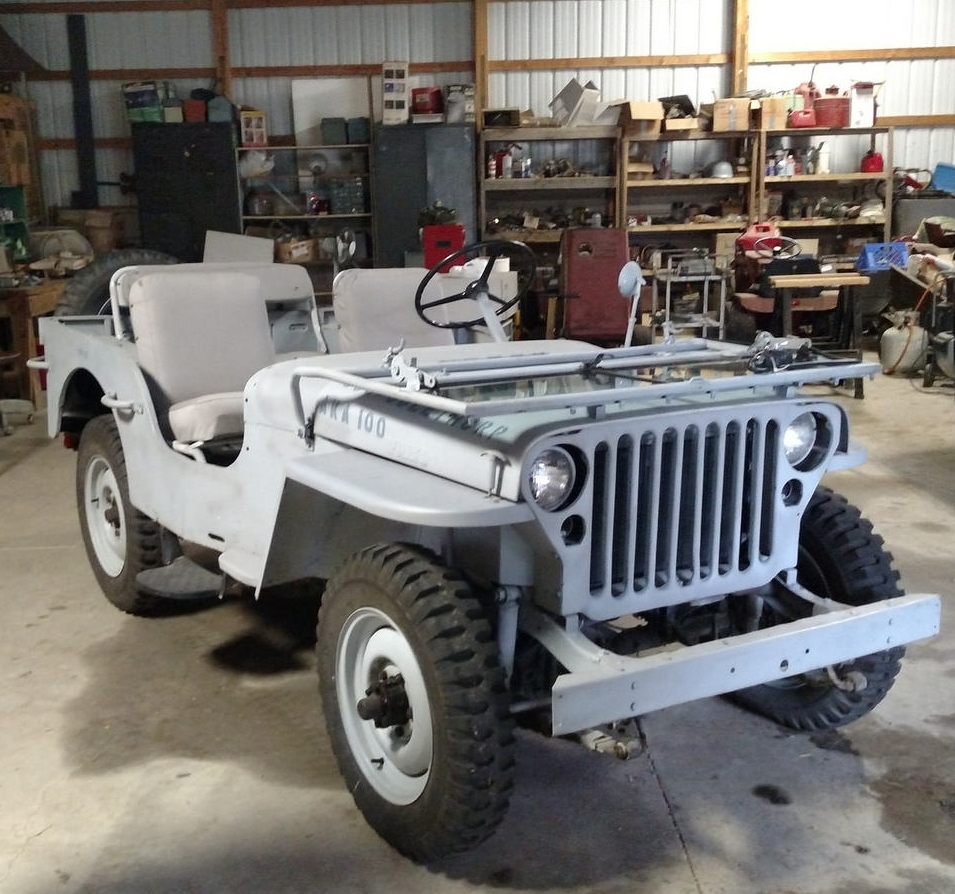 Jeep mb jeep : CC's Best Of 2017: 1948 Willys Jeep MB – In The Beginning