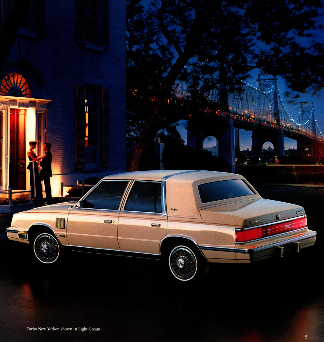 Curbside Classic: 1986 Chrysler New Yorker – Just A Little