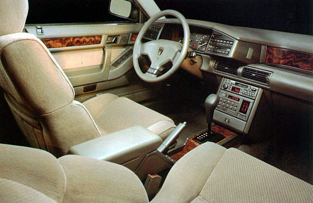 curbside classic 1987 sterling 827 sl a living legend