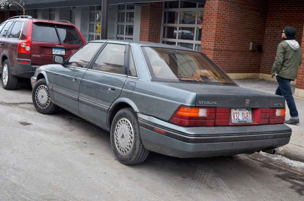 Rover 827 Wiring Diagram Electrical Diagrams 114 Curbside Classic 1987 Sterling Sl A Living Legend