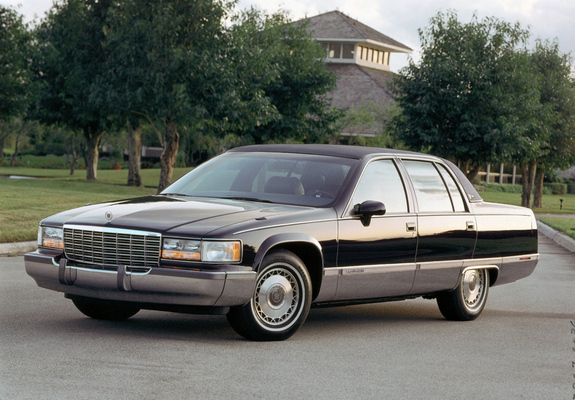 Cc Outtake 1993 96 Cadillac Fleetwood Brougham I Could Even