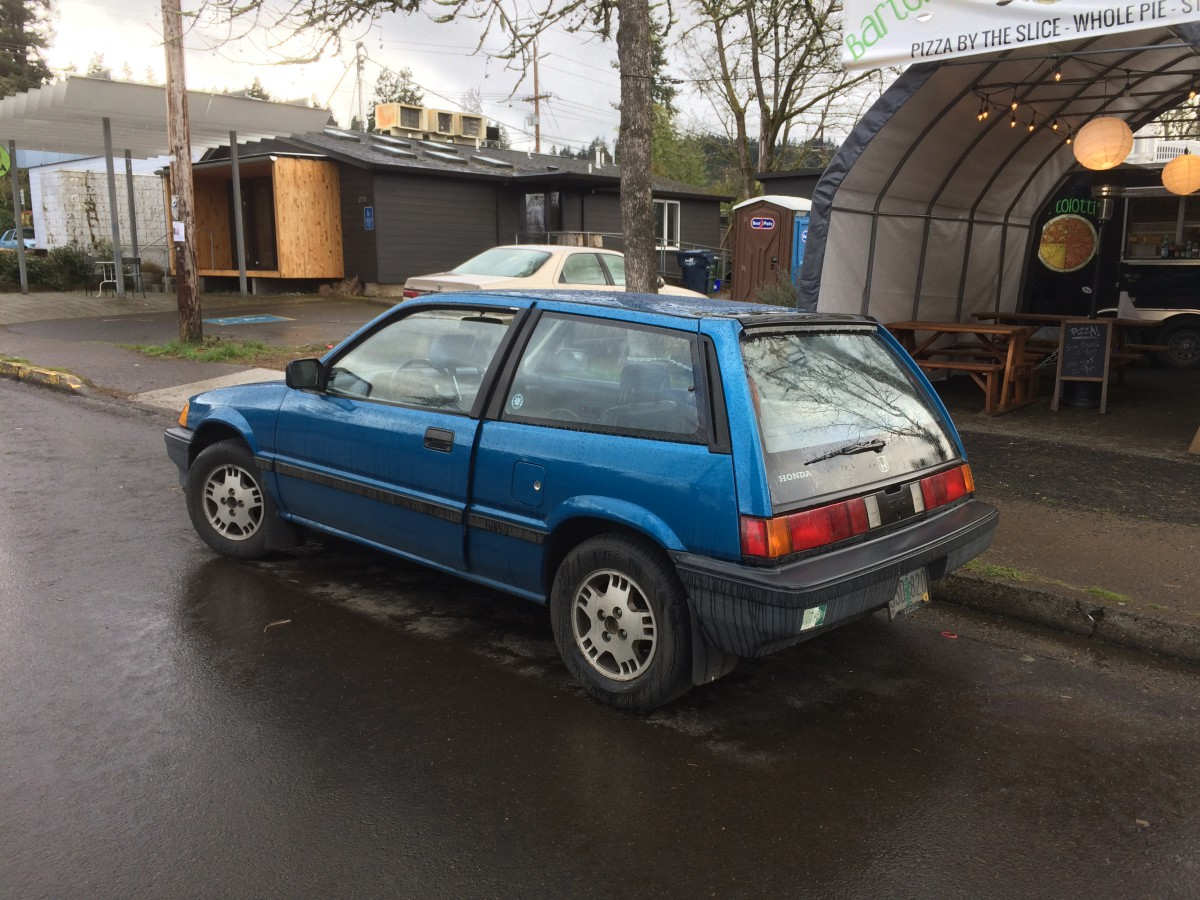 We've have covered the sedan and the wagon and the CRX ...