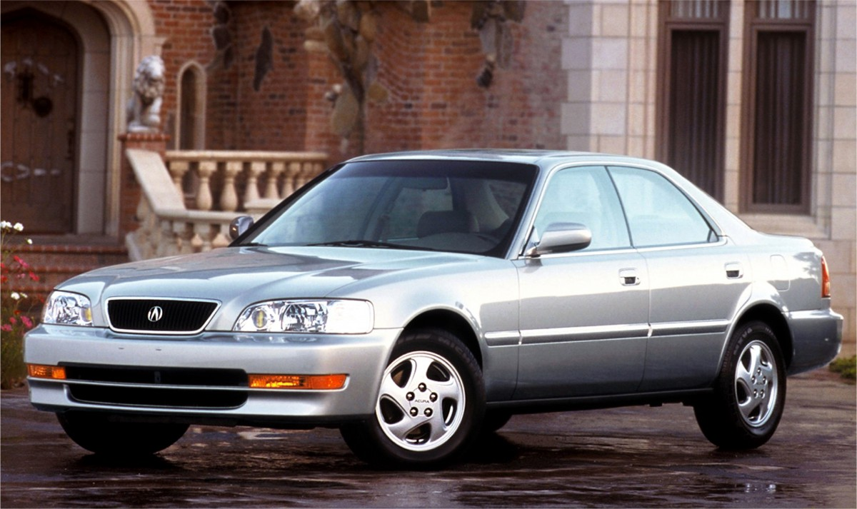 curbside classics 1997 acura 3 2 tl and 2 5 tl not out to greener