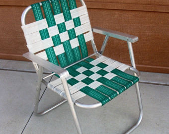Grandmau0027s Chairs Were So Different From Our Own, Which Were Those Aluminum  Frames With The Woven Plastic Webbing That Always Seemed To Tear When You  Sat On ...