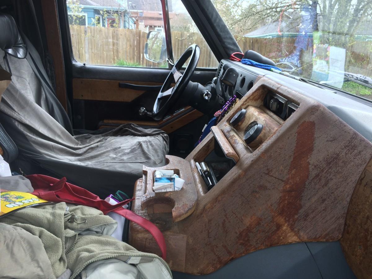 1980 Interiors Van Chevy G20