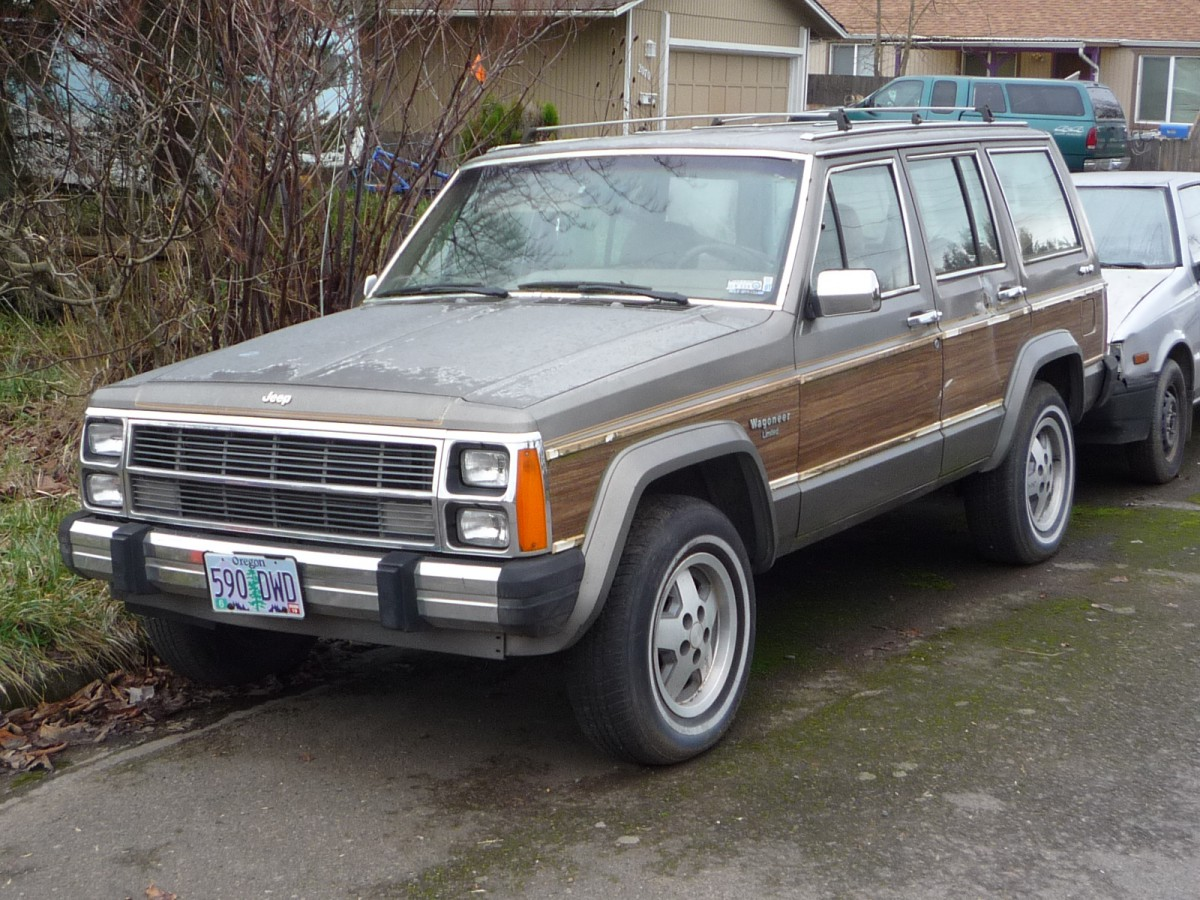 2017 Grand Wagoneer Woody >> CC Outtake: Jeep Wagoneer and Mitsubishi Precis – Two Oddballs from 1987