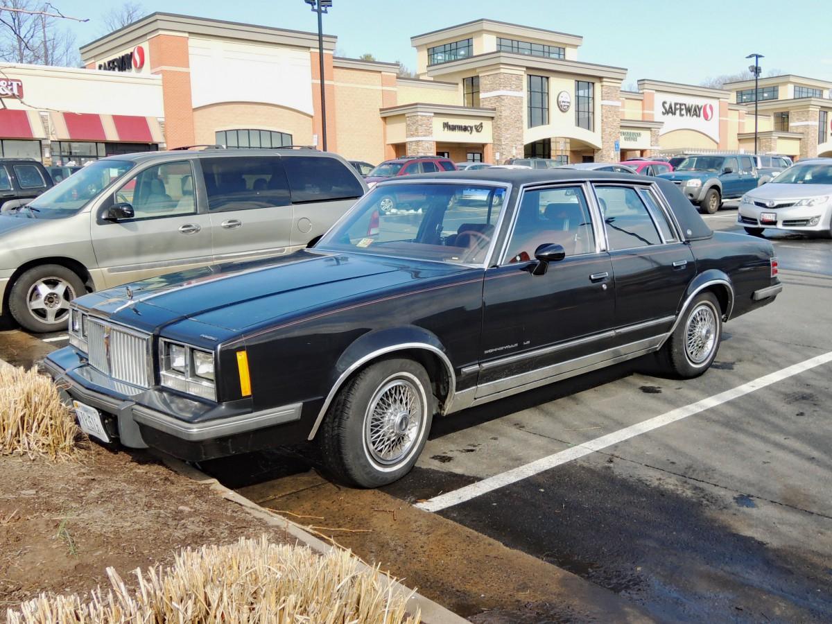 Curbside Classic: 1984 Pontiac Bonneville LE – Better Than A New ...