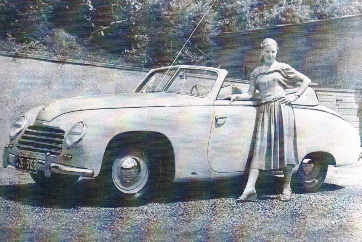 1951 Nsu Fiat 1100 Cabriolet Above And 1956 Neckar Sport