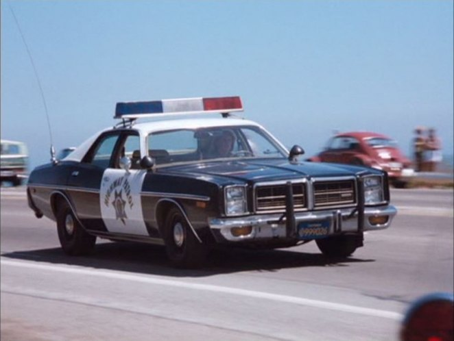 1978 Michigan State Police Patrol Vehicle Test The