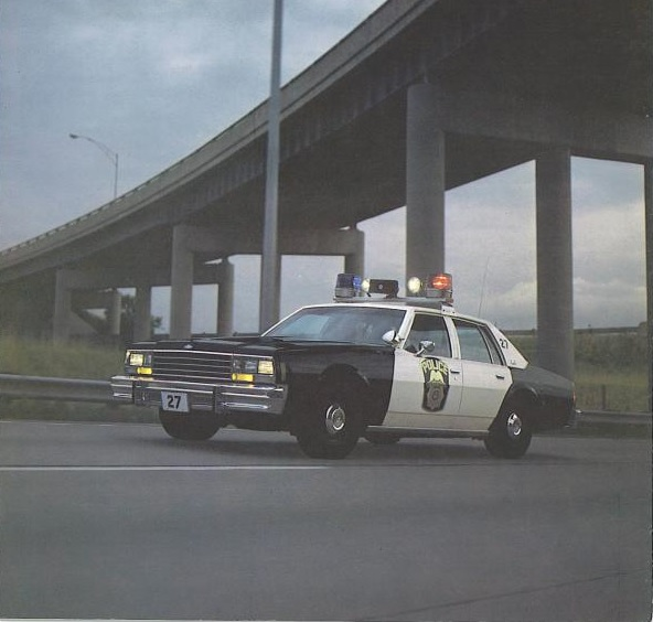 1978 Michigan State Police Patrol Vehicle Test – The