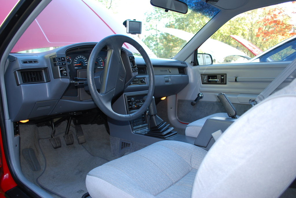 Oldsmobile Cutlass Calais W Interior