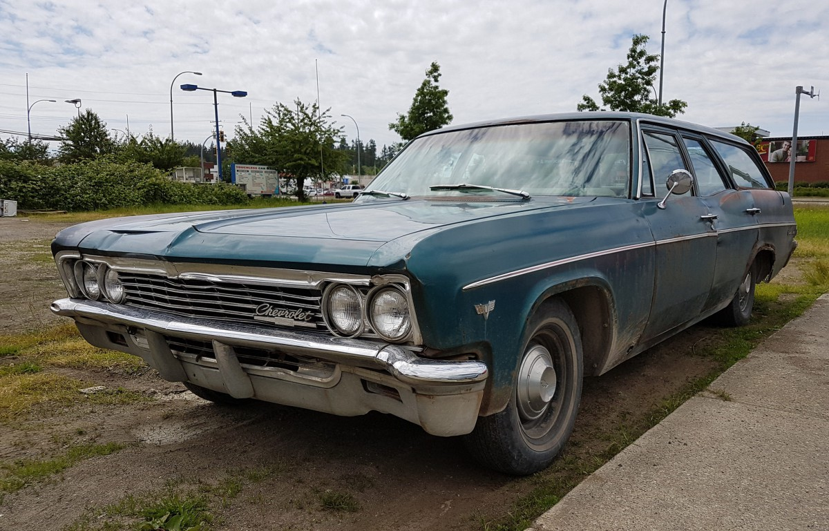 When he pulled up in the driveway in the new chevy bel air wagon one modest step up from the poverty skinflint mobile biscayne a modest sigh of relief was