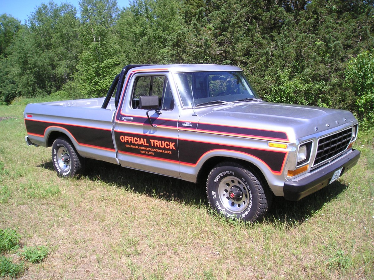 Automotive History 1979 Ford Indianapolis Speedway Official Truck