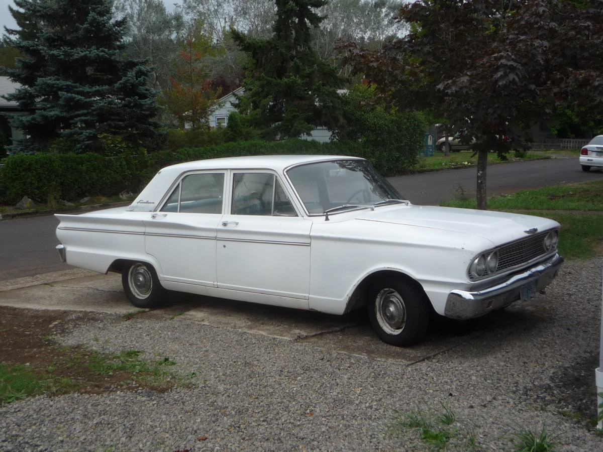 Curbside Classic: 1963 Ford Fairlane Sedan – XL-Size Falcon