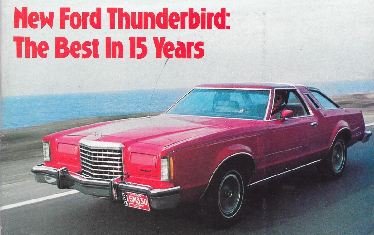 FORD THUNDERBIRD orig 1979 USA Mkt Large Format Prestige Sale Brochure Catalogue