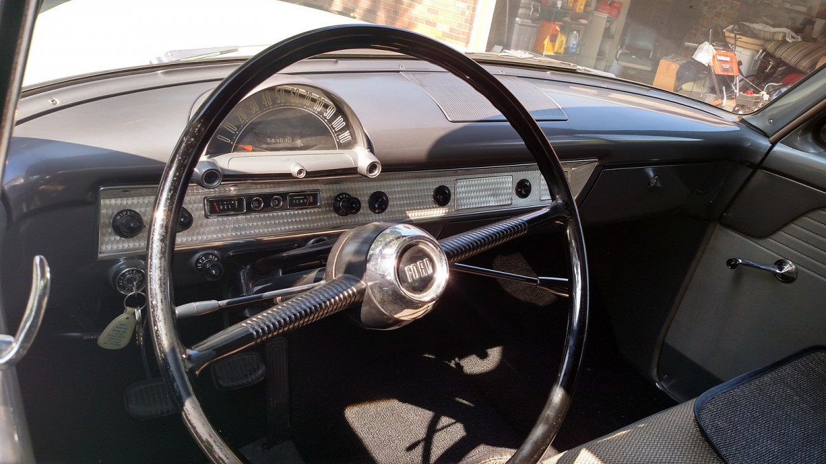 Curbside Classic 1954 Ford Mainline An Alternate Take On Life Main Line The Niedermeyer 54 Came Was Equipped With Sluggish Second Gear Start O Matic Fords First Stab At Automatic Shifting