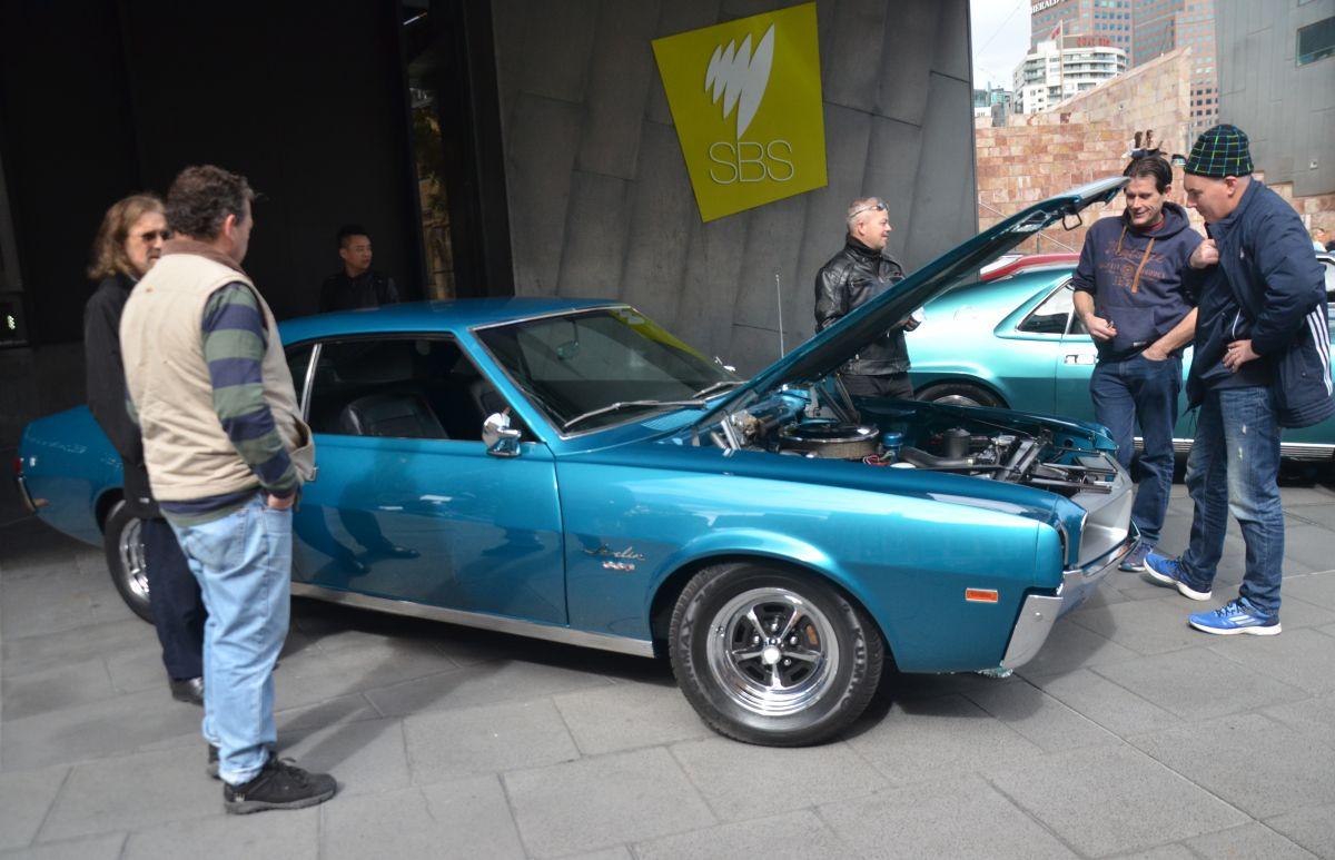 Car Show Classics Amc Rambler Club At Melbourne S Federation Square
