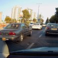 My faithful dash-cam captures another CC. This time it's the glorified Chevy Lumina, howling a pensioner (who else?).