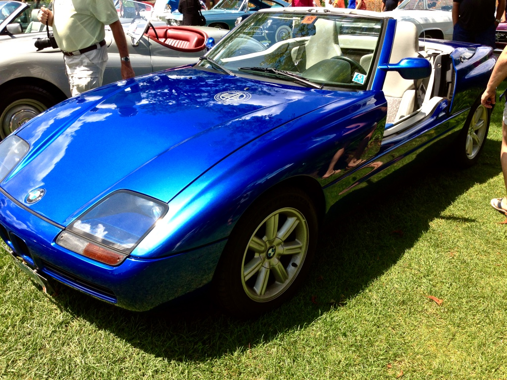 Car Show Classic 1990 Bmw Z1 Haben Sie Doors