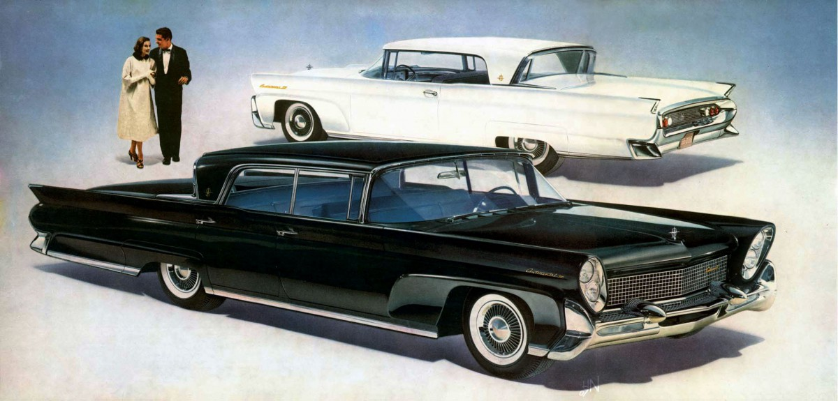 Cold Comfort 1958 60 Lincoln Continental Craziest Factory Air Conditioning Ever Curbside Classic