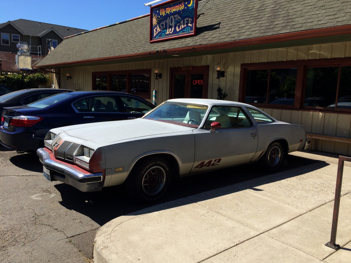 Purchase used 1970 oldsmobile cutlass w31 post coupe 1 of 116 built - Curbside Classic 1977 Oldsmobile 4 4 2 Strength In Numbers Some Of The Time
