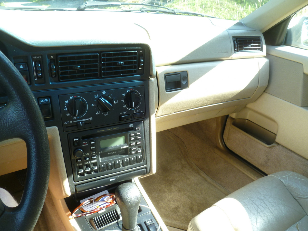 Cc Rental Travelogue 1996 Volvo 850glt Travels With Riley 850 Cruise Control
