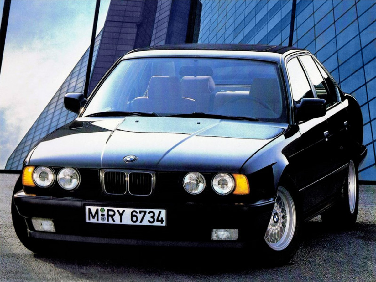 curbside classic: 1992 bmw 525i (e34) – the young professional