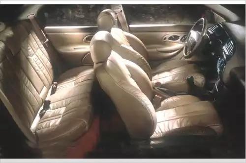 Interior of Ford Contour