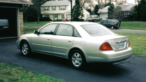 Avalon XL rear view