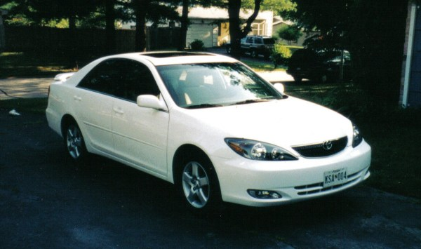 2002 Toyota Camry front view