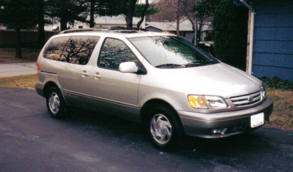 Toyota minivan