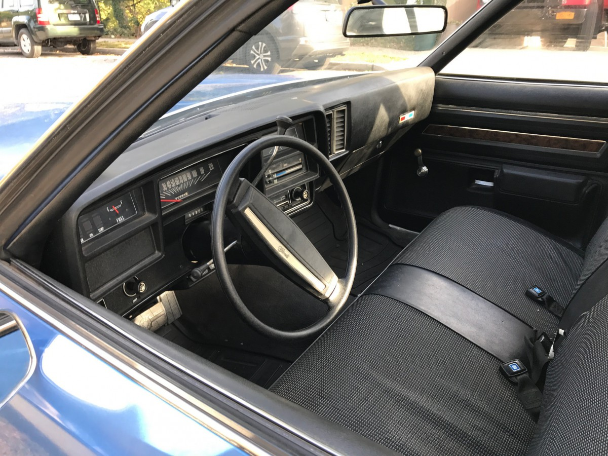 1977 Chevelle Interior