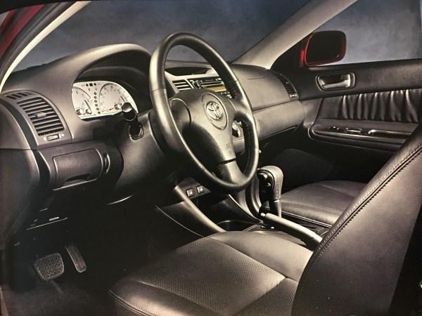 2002 Camry SE interior