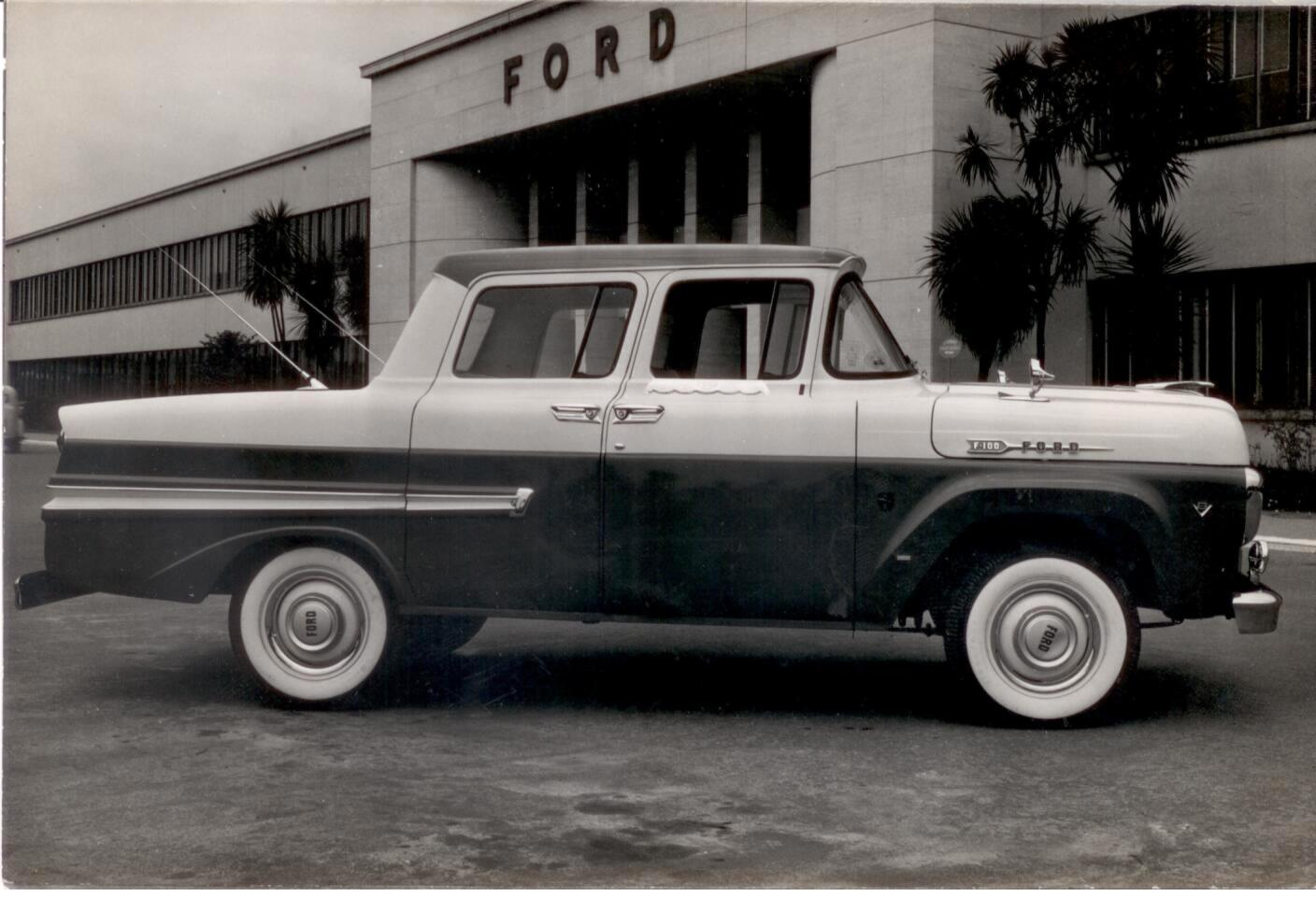 CC Global: The Brazilian Ford Truck Sedans – How About An Escalade Sedan? |  Curbside Classic