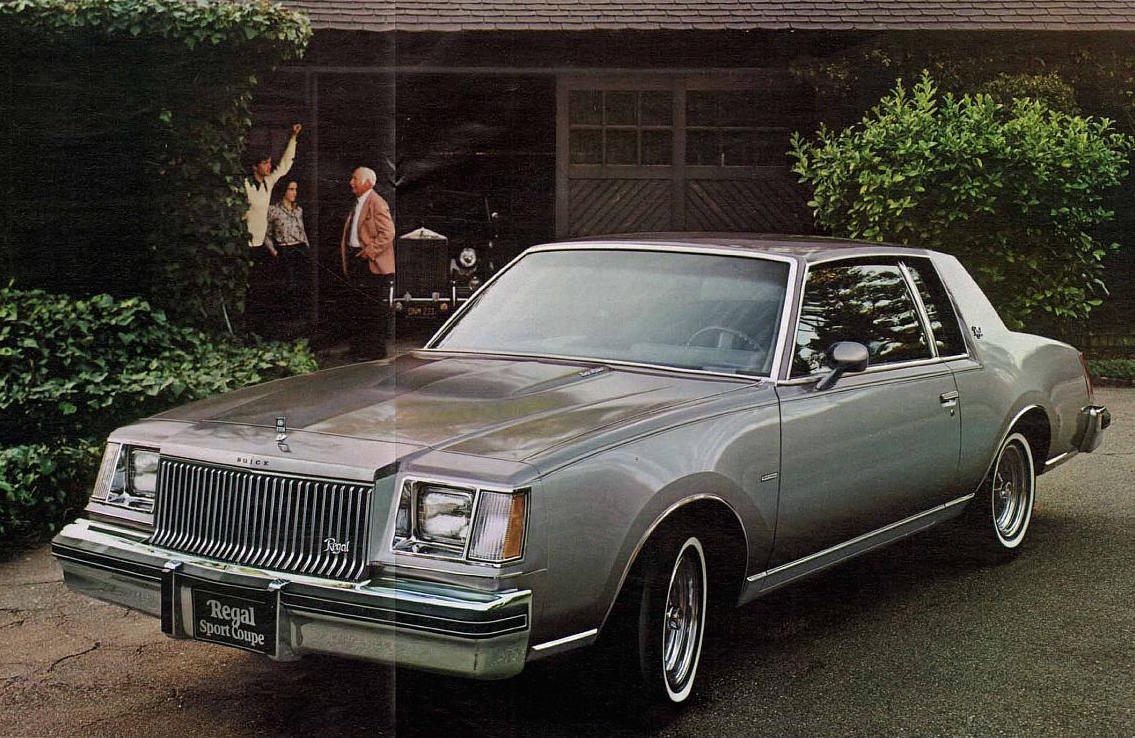 vintage review 1979 buick century turbo coupe this wild. Black Bedroom Furniture Sets. Home Design Ideas
