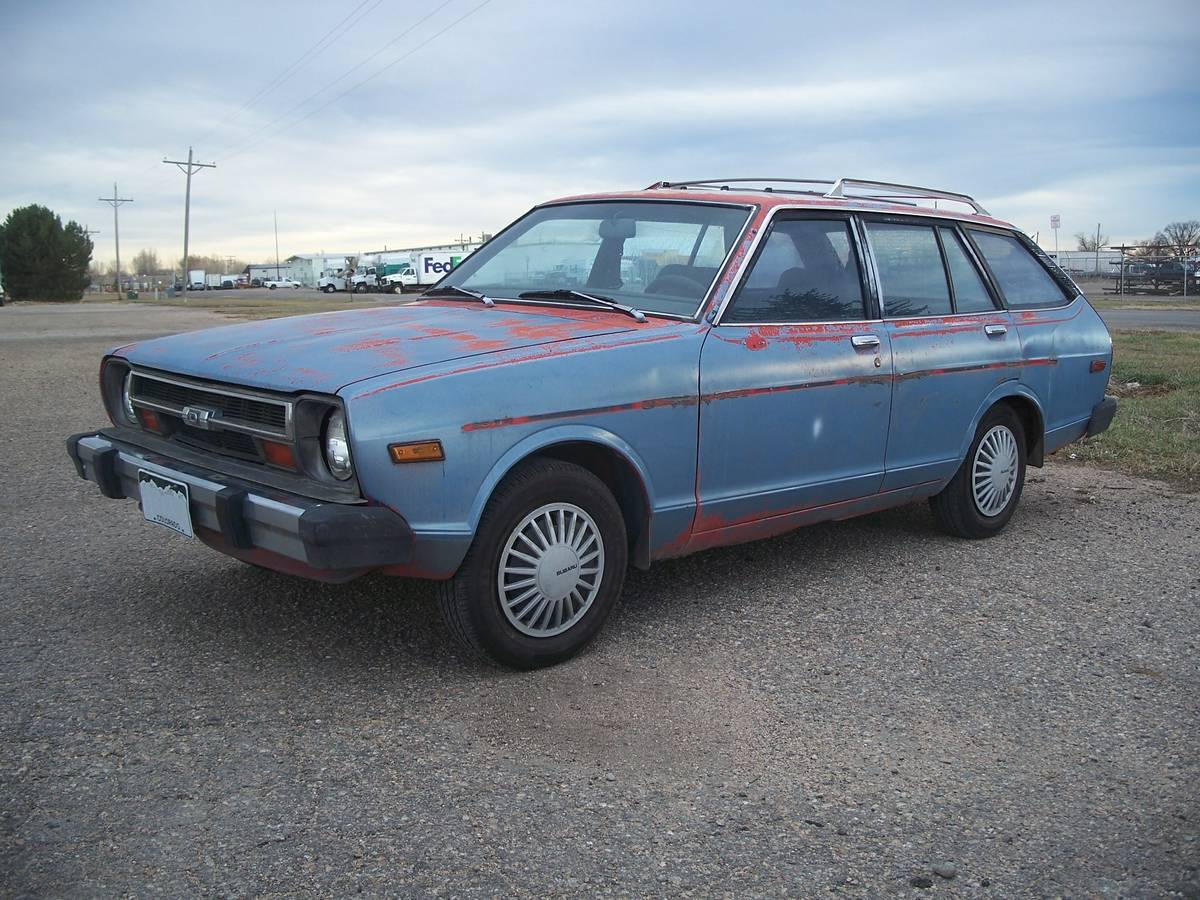 Apart From Being Confused About Its Color, This Datsun