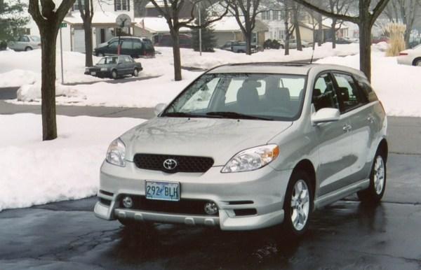 2003 Toyota Matrix XR Front