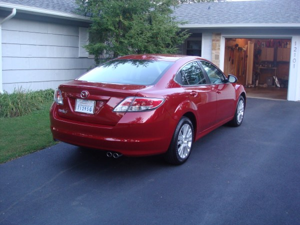 2009 Mazda6 Rear View