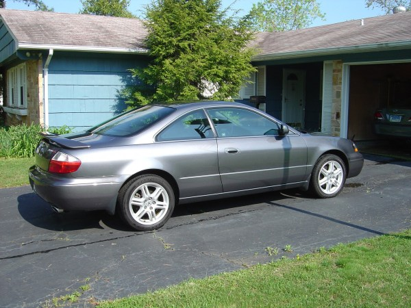 Acura CL Type S side view