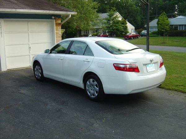 2007 Toyota Camry rear view