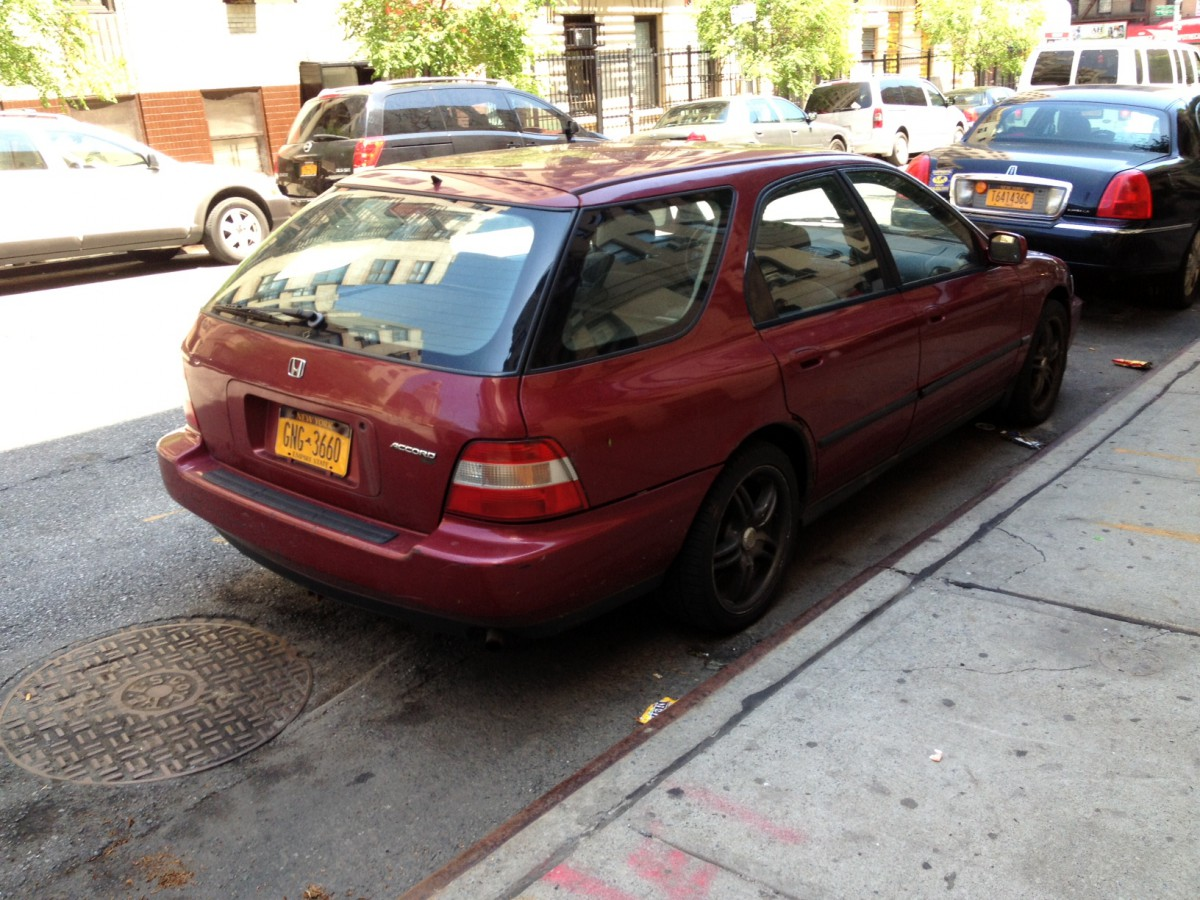 Cc Outtake 1994 97 Honda Accord Aerodeck Remember The Manual Mid Transmission Sized Wagon