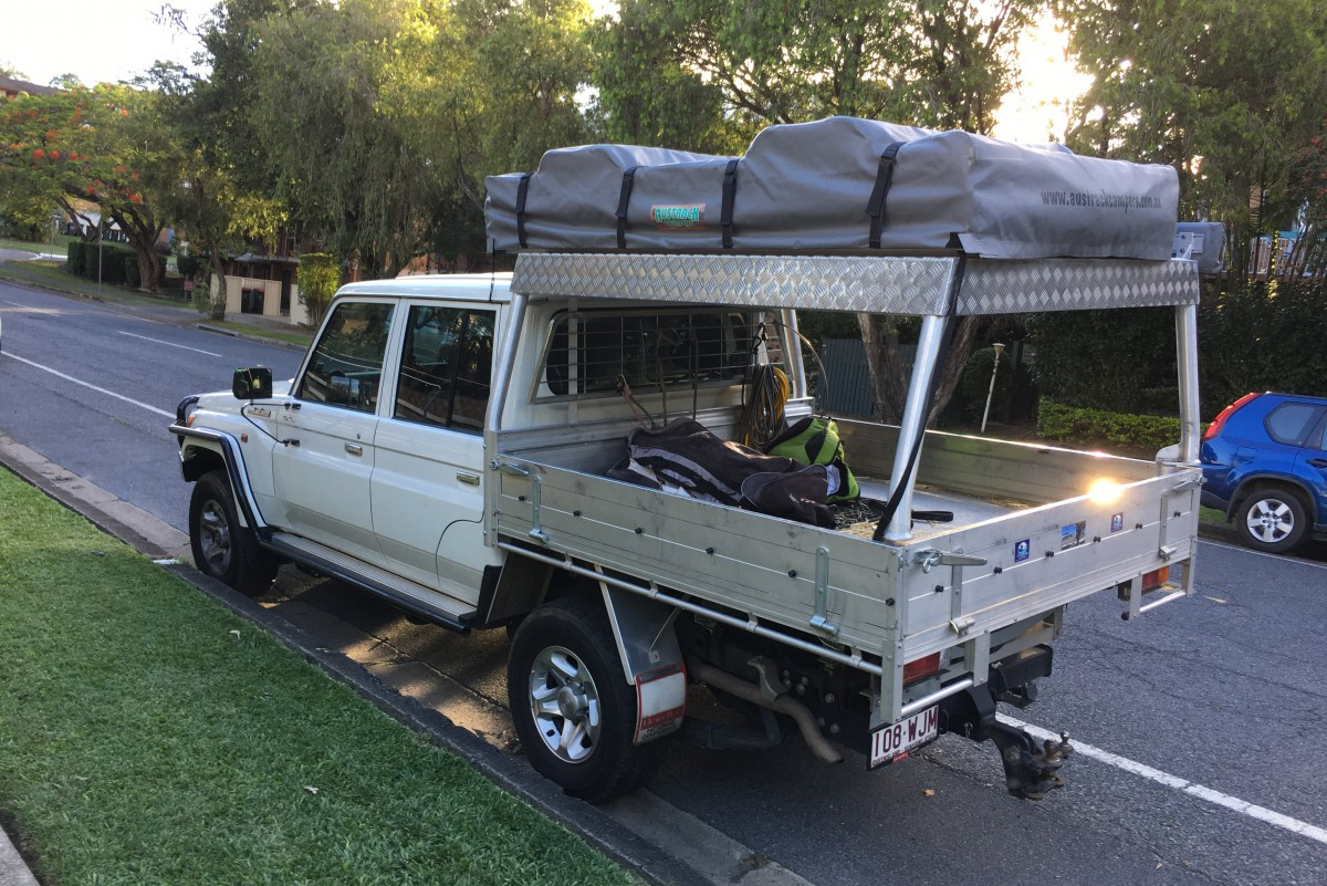 Ccs Best Of 2018 Curbside Classic Toyota Landcruiser 70 Series Land Cruiser They Were Almost All Landcruisers Like Gazzas Or These Ones I Photographed Back In The Cityaustralia Is