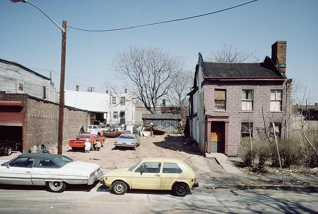 New At Newark Street Newark Nj Fall 1986